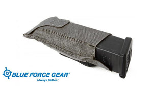 Blue Force Gear Single Pistol Belt Pouch, Grey #BT-TSP-PISTOL-2