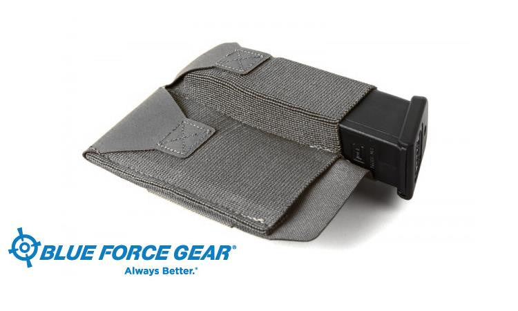 Blue Force Gear Double Pistol belt Pouch, Grey #BT-TSP-PISTOL-2