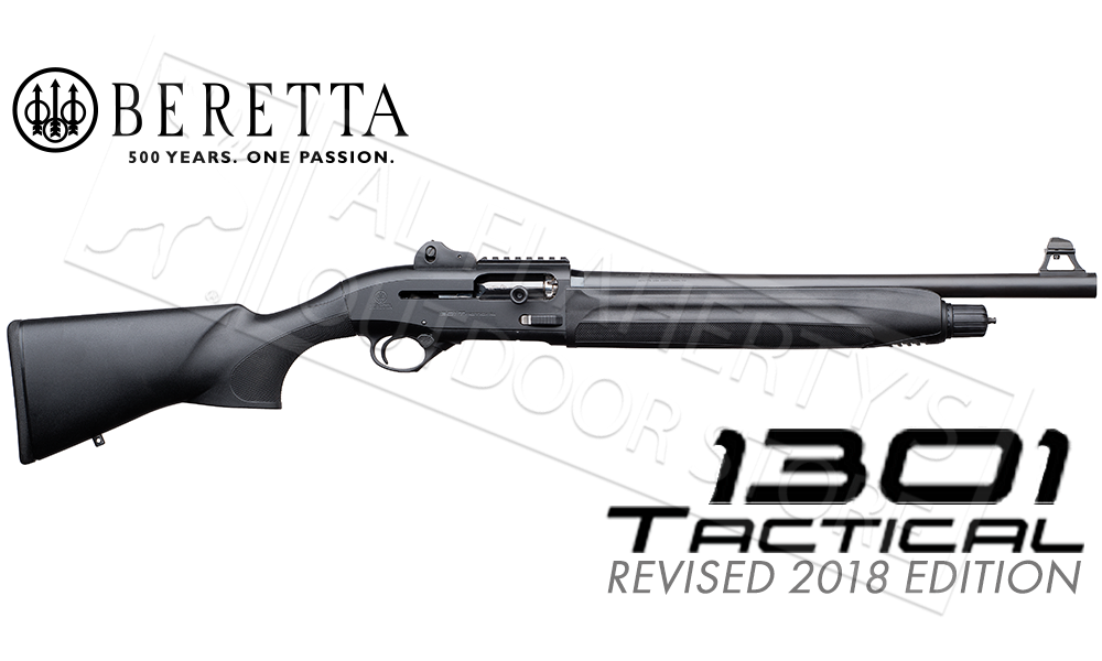 "Beretta 1301 Tactical Semi-Automatic Shotgun, 12 Gauge 18.5"" Barrel #7R1B51131CA11"