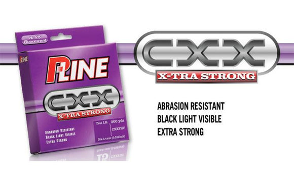 P-Line CXX X-Tra Strong HI-VIS Line, 300 Yard Spools, 6 to 10 lbs. #CXXFHV