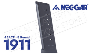 MEC-GAR 1911 Magazines 45ACP 8-Round with Anti-Friction Finish #MGCG4508AFCPF