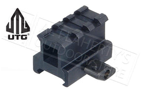 "UTG High-Profile Super-Compact Riser Mount, 1"" Height #MNT-RS10S3"
