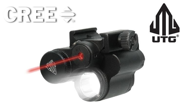 UTG Sub-Compact Light & Laser Combo, Includes Remote Pressure Switch #LT-ELP28R