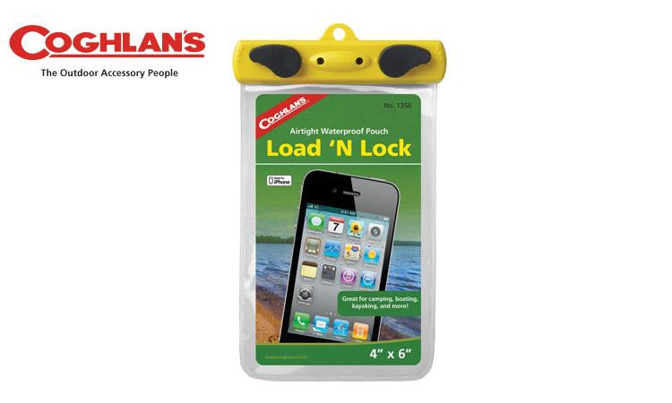 "Coghlan's Load'N Lock Waterproof Pouch, 4"" x 6"" #1350"