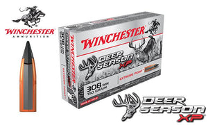 Winchester Deer Season XP 308 Winchester, 150 Grain Box of 20 #X308DS