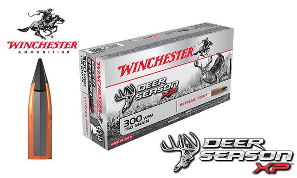 Winchester Deer Season XP 300 WSM, 150 Grain Box of 20 #X300SDS