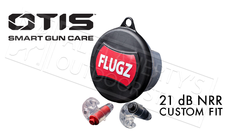 Otis FLUGZ Custom Earplugs 21dB NRR #FG-FL-1C