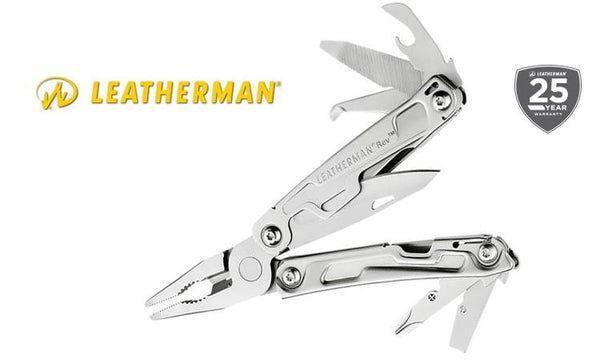 Leatherman REV Multi-Tool, Stainless with Nylon Sheath #832136