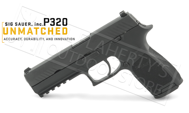 SIG P320 Pistol with Contrast Sights, 9mm #320F-9-B-10