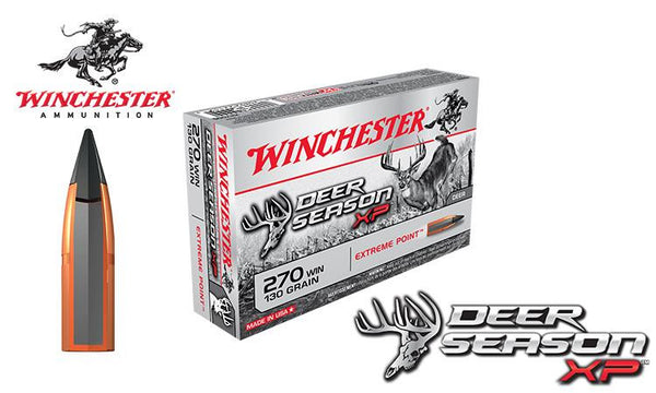 Winchester Deer Season XP 270 Winchester, 130 Grain Box of 20 #X2700DS
