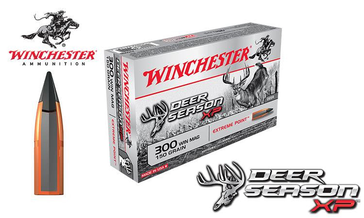 Winchester Deer Season XP 300 Winchester Magnum, 150 Grain Box of 20 #X300DS
