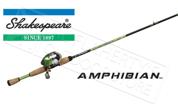 "Shakespeare Amphibian Spincast Youth Combo, 5'6"" Medium Power Rod #AMPSCCBO"