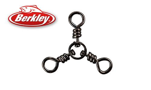 Berkley 3-Way Swivel, Black Nickel Finish, Sizes 1 to 3 #3WS