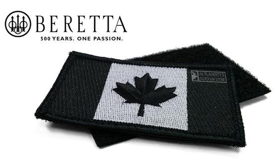 Beretta Embroidered Duty Patch with Backing - Canada Flag - PATCHFL99