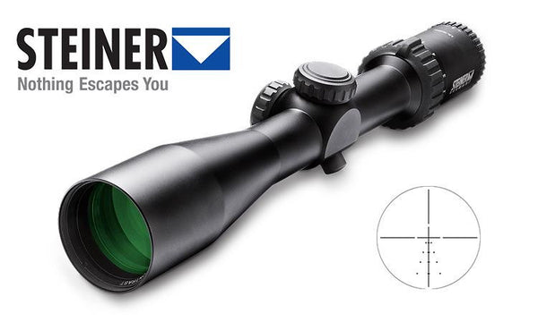 Steiner GS3 Scope 2-10x42, S1 Ballistic Reticle #5004