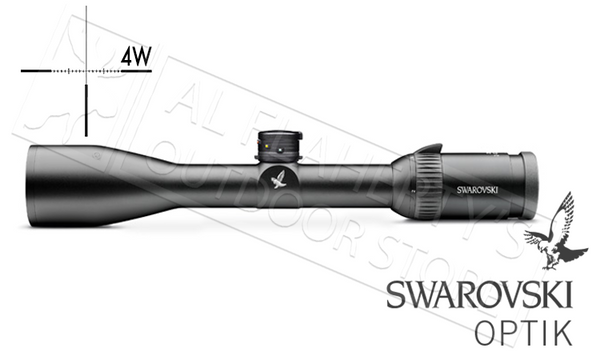 #59318 Swarovski Scope Z6 2-12x50, Ballistic Turrets & 4W Reticle