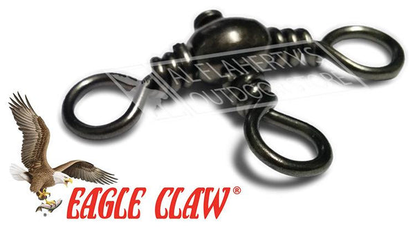 Eagle Claw Crossline Swivels, Sizes 12 to 2, Packs of 12 #01162