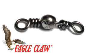 Eagle Claw Barrel Swivel, Sizes 5 to 18, Packs of 8 #01162