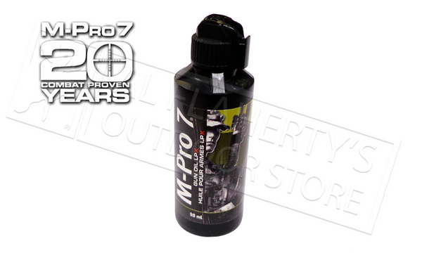 M-Pro 7 Gun Oil LPX, 59mL Bottle #0701452