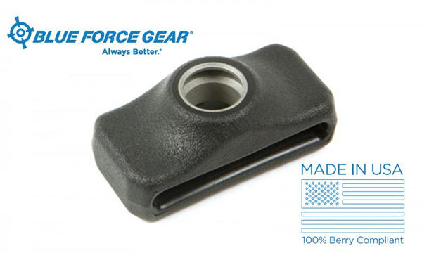 Blue Force Gear Burnsed Socket Sling Adaptor, Black Aluminum #P-PBF-125-BK