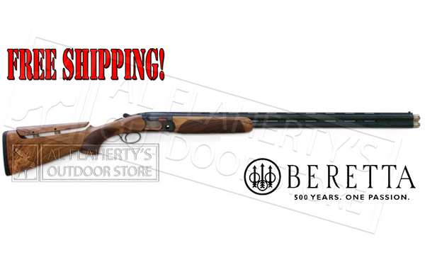 "Beretta 690 Competition Shotgun with B-Fast Adjustable Comb - 12 Gauge, 32"" Barrel with Extended Chokes #A4Q462B1300101"