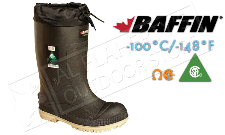 Baffin Safety Boots Titan -100°C / -148°F, Sizes 8 to 13 #2359