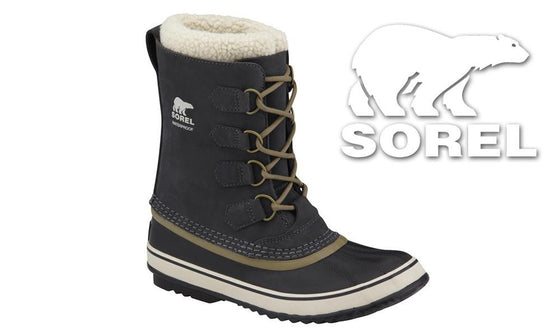 Sorel 1964 Pac 2 Women's Boot, Coal, Sizes 7 to 9 #NL1964-048