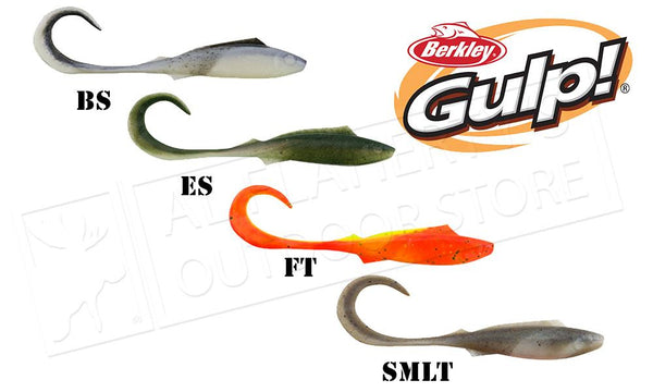 "Berkley Gulp! Nemesis Minnows, 4"" Bag of 6 #GNM4"