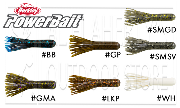 "Berkley PowerBait Power Tubes, 3.5"" Pack of 8 #PBBPT3.5"