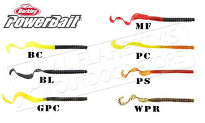 "Berkley PowerBait Power Worms, 7"" Packs of 13 #PBBPW7"