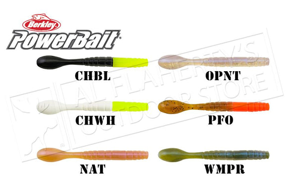 "Berkley PowerBait Pro Jig Worm, 3"", Bag of 15 #PBBPSJW3"