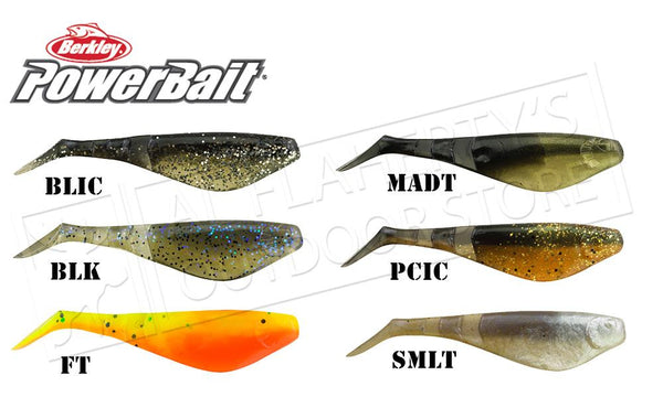 "Berkley PowerBait Pro Shad, 3-1/2"", Bag of 10 #PBBpSS3.5"