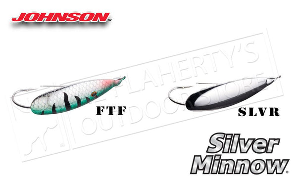"Johnson Silver Minnow, 2"" 1/4 oz. #SM1/4"