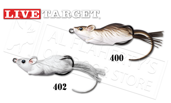 "LiveTarget Mouse Hollow Body, 2-1/4"" 3/8 oz. #MHB60T"