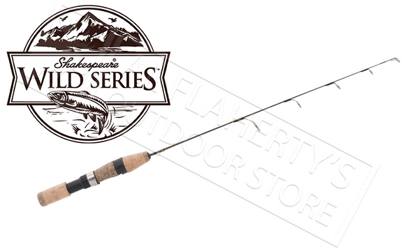 "Shakespeare Wild Series Ice Rods, 23"" to 30"", Ultra Light to Medium Heavy #SWSICEx"