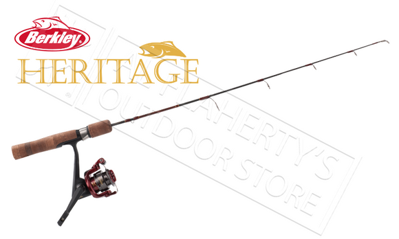 "Berkley Heritage Ice Fishing Combo, 28"" Medium-Light Action #BHICE28MLCBO"