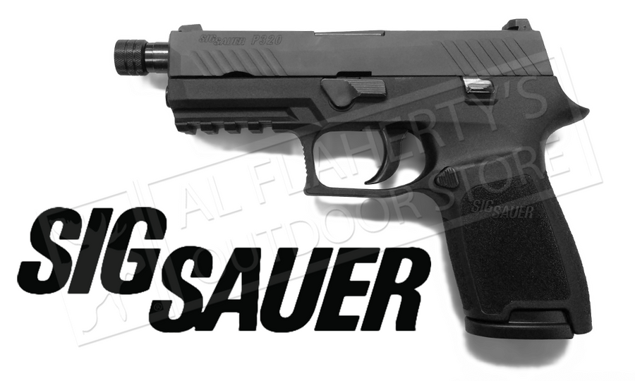 SIG P320 Compact with Threaded Barrel 9mm #W320C-9-BSS-TB