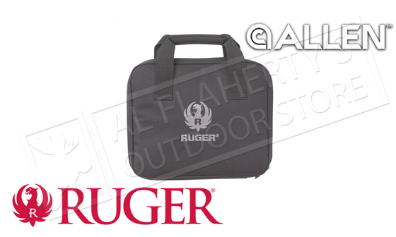 "Allen Ruger Single Handgun Case 11"" #27957"
