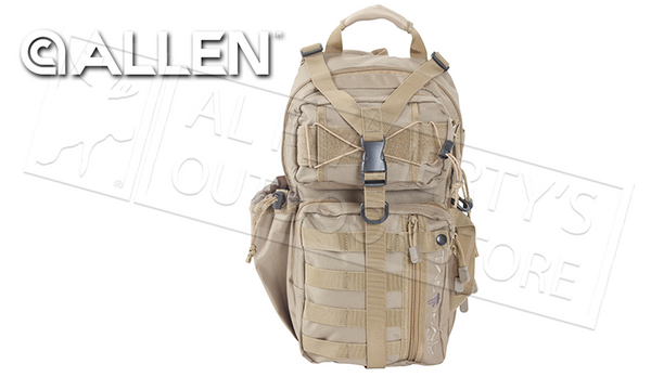 Allen Lite Force Tactical Sling Pack, Tan 20L #10855
