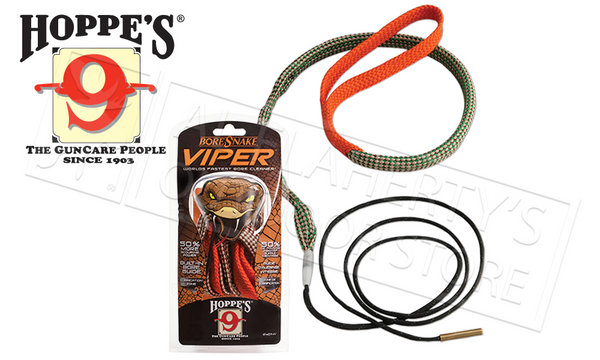 Everything you love about the Hoppe's BoreSnake plus better cleaning and superior strength.
