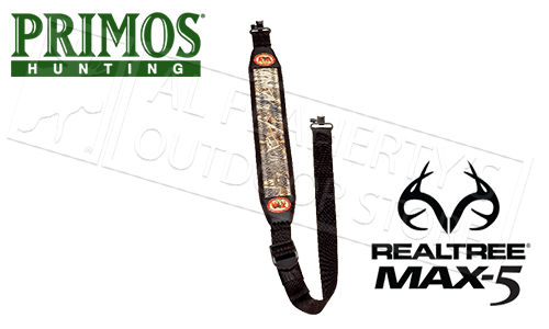 Primos Final Approach Featherweight Gun Sling, Realtree Max-5 Camo #448395