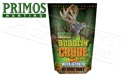Primos Bubblin' Crude for Deer, 5lb Bag #58546