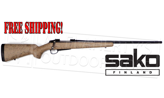 Sako A7 Roughtech Pro, Desert Finish with Fluted Barrel