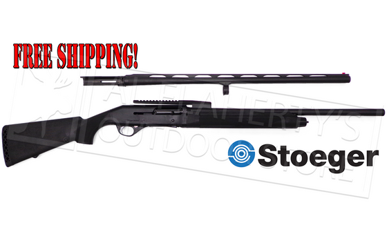 "Stoeger M3500 Combo, 12 Gauge, 3.5"" Chamber, 28"" Smooth & 24"" Cantilever Rifled Barrel #3500RCOM"