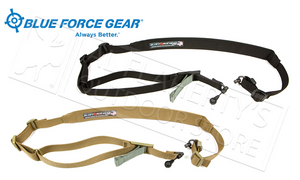 Blue Force Gear Vickers 221 Sling, Padded with RED Swivel Release #VCAS-2TO1-RED-200-AA