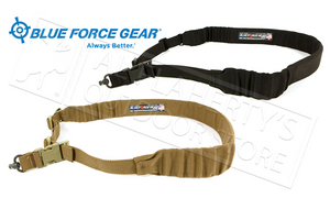Blue Force Gear UDC Padded Bungee Single Point Sling with Push Button Swivel Adapter #UDC-200-BG-PB