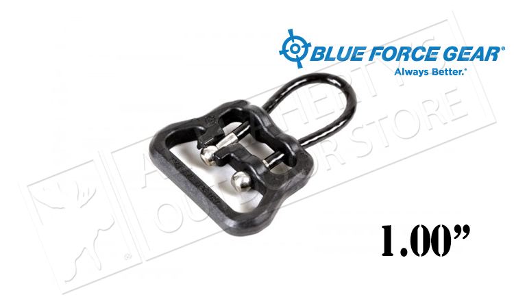 "Blue Force Gear Uloop - 1.00"" Black #UWL-UL1-100-BK"