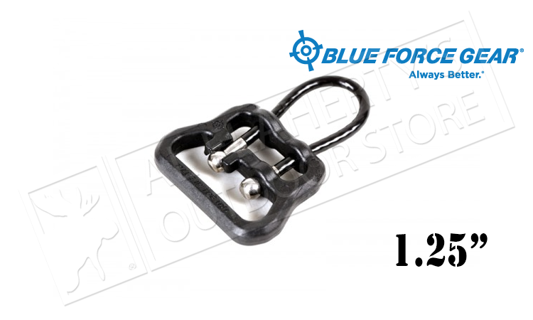 "Blue Force GearUloop - 1.25"" Black #UWL-UL1-125-BK"