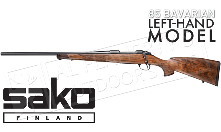 Sako 85 Bavarian Rifle, Left Handed Configuration with Open Sights