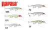 "Rapala Shadow Rap Deep - SDRSD09 - 3-1/2"" 3/8oz. 5'-6' Depth"
